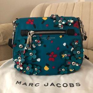 MARC JACOBS 3D painted flowers handbag